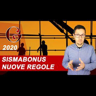 SISMABONUS con PERMESSO DI COSTRUIRE o SCIA: nuove regole e come funziona per la detrazione 2020