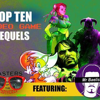 MOTN Top Ten: Video Game Sequels
