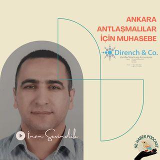 İnan Sevindik ile Ankara Anlaşmalılar için muhasebe