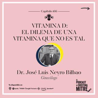 Vitamina D: el dilema de una vitamina que no es tal con el Dr. Jose Luis Neyro. Episodio 166