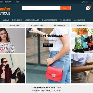 Shachar Boutique Stylish Clothing, Handbags, Gifts Store