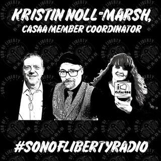 #sonoflibertyradio - Kristin Noll-Marsh, CASAA