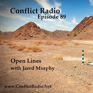 Episode 89 Open Lines YouTube Live Show with Jared Murphy