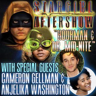 """""""Hourman and Dr Mid-Nite"""" with guests Cameron Gellman and Anjelika Washington"""