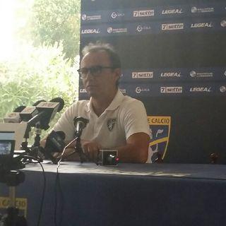 Conferenza stampa Pasquale Marino alla vigilia di Frosinone Salernitana
