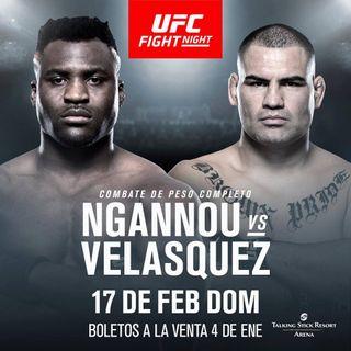 Episodio 2 - Caín Velásquez vs Francis Ngannou
