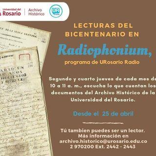Lecturas del Bicentenario con Radiophonium en FILBO 2019