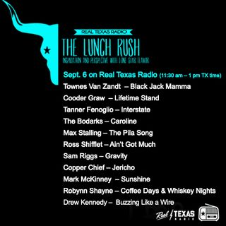 Sept. 6: The Lunch Rush with Drew Myers