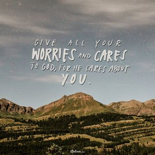 A Prayer to Stop Worrying