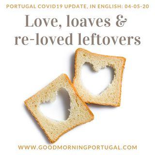 Covid 19 update for Portugal, Love Lingo & Beyond Lisbon's Açorda recipe