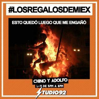 Chino y Adolfo en Studio 92 #LosRegalosDeMiEx