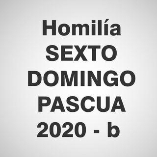 Homilía 6º Domingo de Pascua 2020 - B