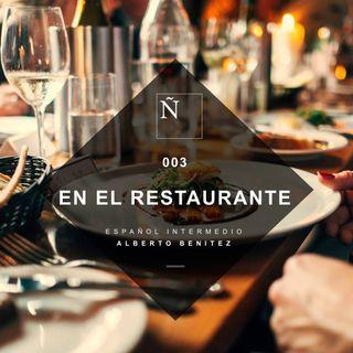 003 En el restaurante - Español Intermedio