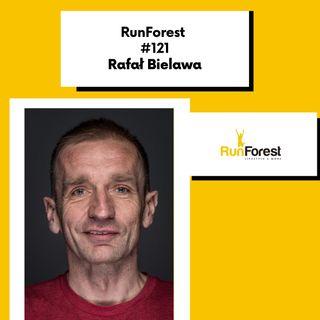 Ultra-maratończyk Rafał Bielawa w RunForest #121. Prowadzi Grzegorz Soczomski