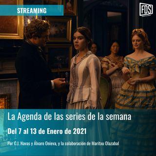 Streaming: Agenda de Series del 7 al 13 de Enero de 2021
