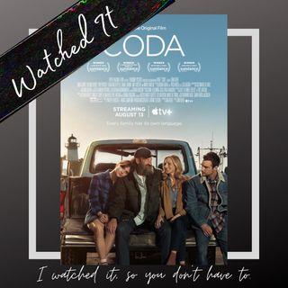 Apple Original Movie CODA | Watched It!