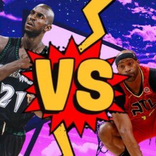 Kevin Garnett vs Vince Carter