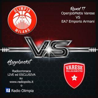 OpenjobMetis Varese vs EA7 Emporio Armani