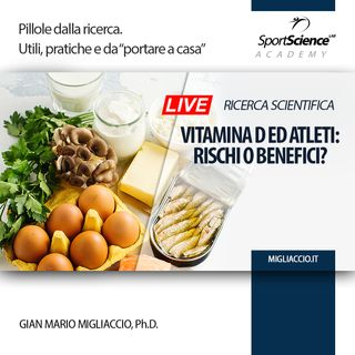 La Vitamina D è efficace nella preparazione dell'allenamento sportivo?