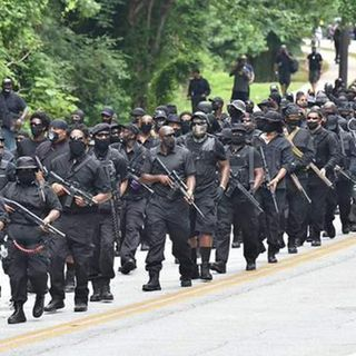 Black militants are now Protesting and Highly Armed