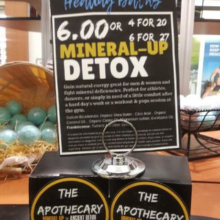 Organic & Natural product Mineral-Up