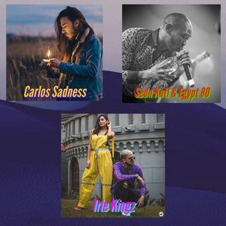 Domingo: Irie Kingz + Carlos Sadness + Seun Kuti & Egyt 80