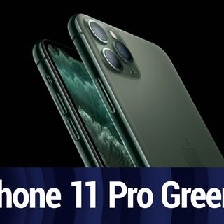 iPhone 11 Pro: Midnight Green vs Avocado Green | TWiT Bits