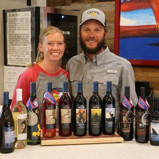 Mesa Park Vineyards - Brandon and Laura Black on Big Blend Radio