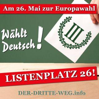 Radiowerbespot zur Europawahl 2019