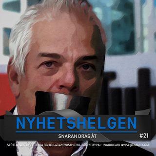 """Nyhetshelgen #21 - Snaran dras åt, regeringen bakom Swebb-tvs nedstängning, """"regnbågspesten"""", bajs"""