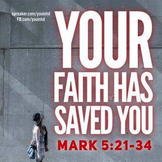 Jesus Heals: Mark 5:21-34