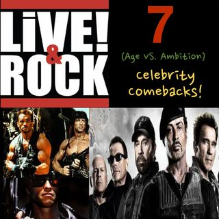 Ep 7: Celebrity Comebacks (Age Vs. Ambition)