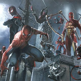 Battle of the Spidermen