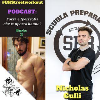 EP 43 - Rapporto tra FORZA e IPERTROFIA con Nicholas Gulli | Parte 2