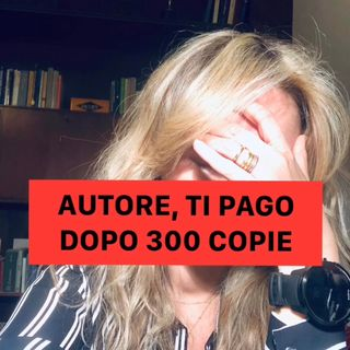 Ti pago le royalty, se vendi 300 copie...