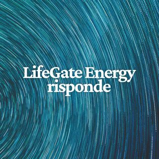 LifeGate Energy risponde