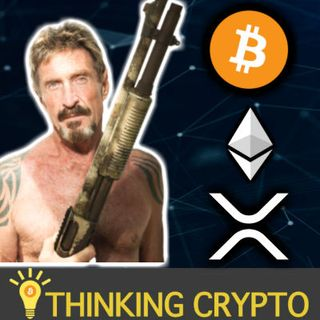 John McAfee Interview - Bitcoin Outdated, Loves Ethereum, Hates XRP - McAfee DEX Updates & More!