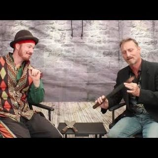 Juggling Fun & Knives-Harmless Danger Juggling:Liam Selvey interview on the Hangin With Web Show