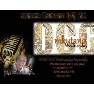 Mkutano OPEN MIC Wednesday Night at OUR COMMON GROUND  :::: 7-01-20