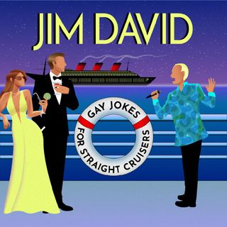 Comic Jim David: Gay Jokes for Straight Cruisers