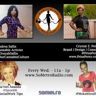 MidWeek MashUp hosted by @MokahSoulFly Show 19 May 25 2016 - Guests Andrea Sallis and @PrissPerry