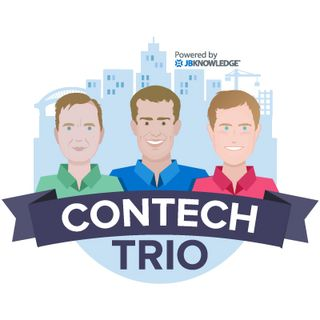 ConTechTrio 40 Britton Langdon @BrittonLangdon from @Fab_Pro1! Talking Prefabrication in Construction.