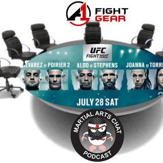 UFC Calgary Predictions