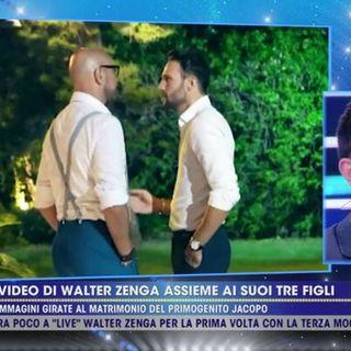 Elivira Carfagna Walter Zenga Raluca Rebedea  a Live non è la d'Urso