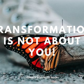 1682 Transformation Is Not About You!