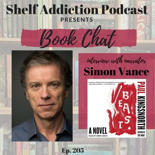 205: Interview with Audiobook Narrator Simon Vance | Book Chat