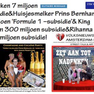 Miljoenen Subsidie voor Heineken & Prins Bernard Jr.& Jan met de Pet niets (afl. 13,2019)
