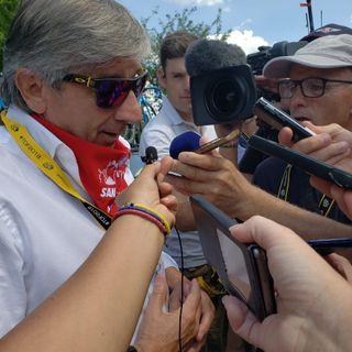 Tour de Francia 2018: audio de Eusebio Unzué, explicando el percance de @NairoQuinCo
