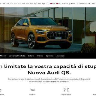 1167 Auto: Audi q8 ibrida e e-tron elettrica