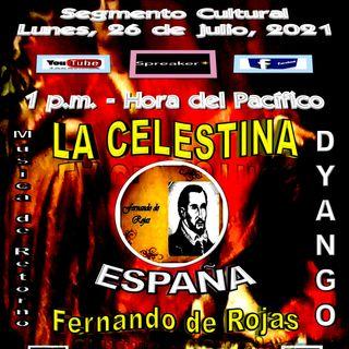 """Homenaje al escritor clásico español, Fernando de Rojas, autor de la obra literaria """"La Celestina"""" - Composiciones de Dyango * España"""